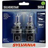 silver star headlights 9004 - SYLVANIA 9004 SilverStar High Performance Halogen Headlight Bulb, (Contains 2 Bulbs)
