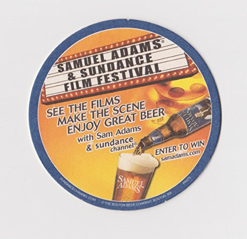 The Boston Beer Company Samuel Adams & Sundance Film Festival Paperboard Coasters - Sleeve of 90 (Boston Sam Adams Ale)