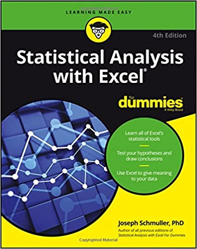 Amazon.com: Statistical Analysis with Excel For Dummies ...