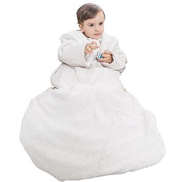 WDXIN Saco De Dormir Bebe Bebe Crecer Saco De Dormir Niño Edredón Anti-Patada Otoño