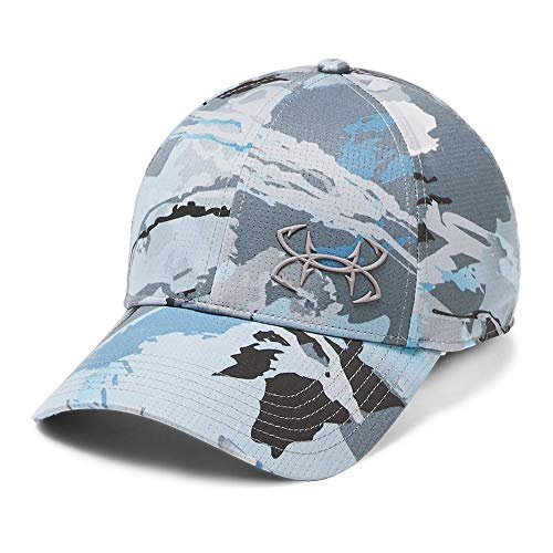 Under Armour Outerwear Mens Thermocline Cap 2.0, Usa Hydro Camo//Pitch Gray, Medium/Large
