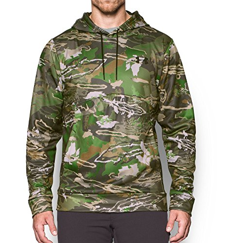 Under Armour Men's Storm Camo Hoodie, Ridge Reaper Camo Fo/Cannon, XX-Large