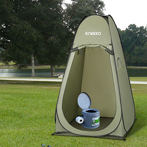Amazon.com Enkeeo Portable Privacy Tent Pop Up Changing Tent Dressing Room with Detachable Floor and Carry Bag for Shower Toilet C&ing Outdoor Beach ... & Amazon.com: Enkeeo Portable Privacy Tent Pop Up Changing Tent ...