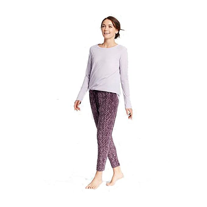 394e21a69af0 Gilligan   O Malley Women s Cozy Pajamas 2 Piece Set Cultured Violet ...