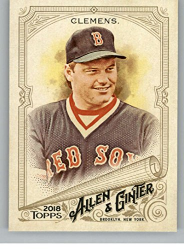 (2018 Topps Allen and Ginter Baseball #233 Roger Clemens Boston Red Sox Official MLB Trading Card)
