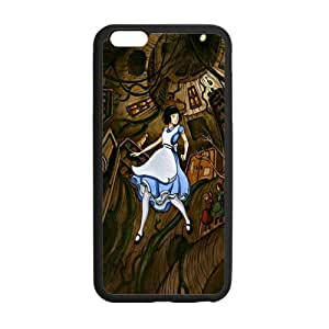 Cutomize Alice in Wonderland Ultimate Protection Scratch Proof Case TPU Skin for iphone 6 Cover 4.7 inch