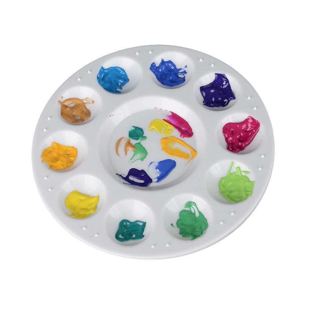 Paint Tray Palette Professional Plastic Quality Paint Palette for Acrylic Oil Watercolor Paints