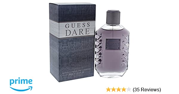 Amazoncom Guess Dare Eau De Toilette For Men 34 Ounce Beauty