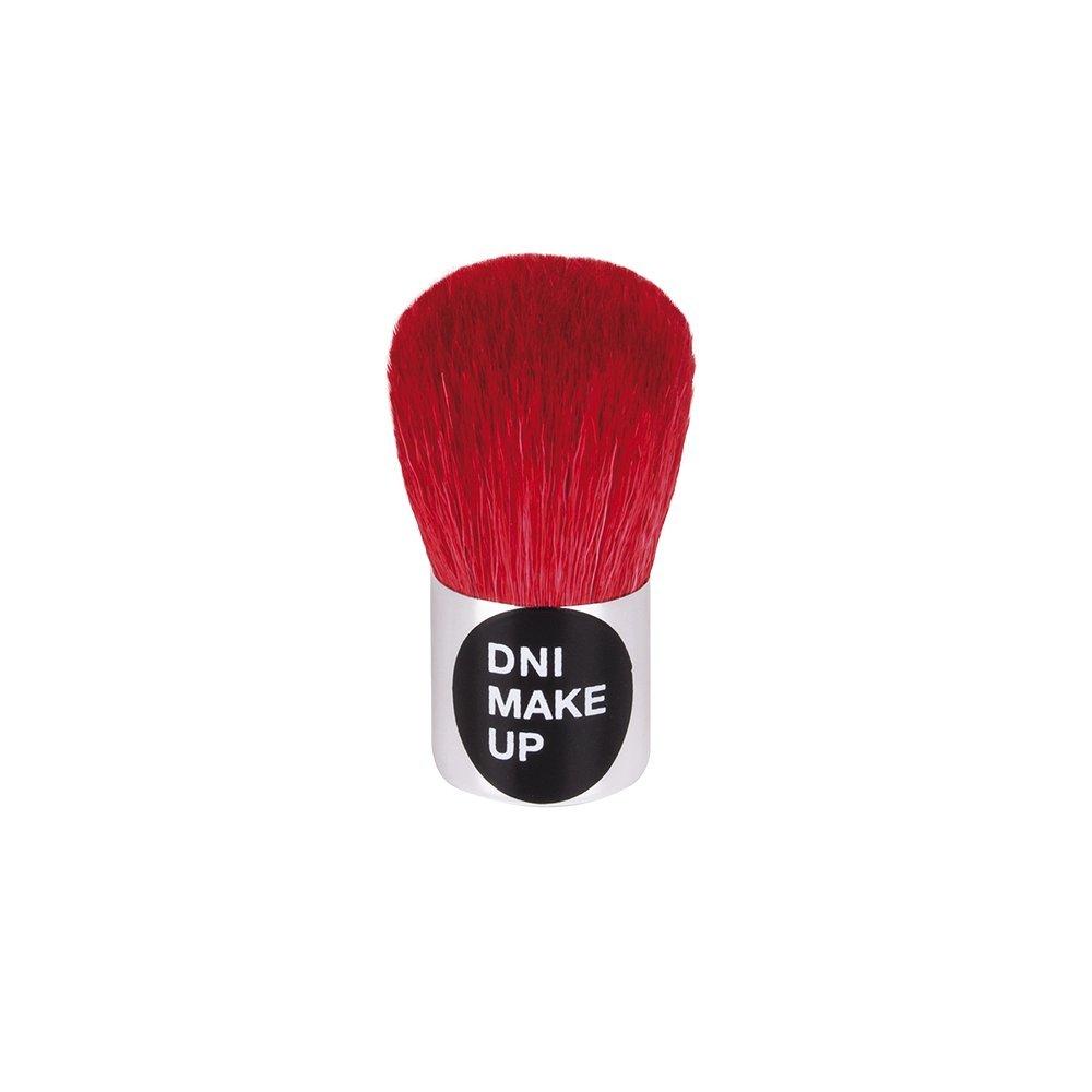 Brocha Kabuki para aplicación de polvos compactos, pelo de cabra · nº 16, DNI MAKE UP
