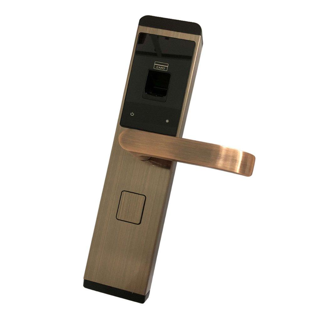 Baosity ホーム セキュリティ スマート 電子 キーレス デジタル ドアロック 全4色選べる レッド銅 B07BDKK5F6  レッド銅
