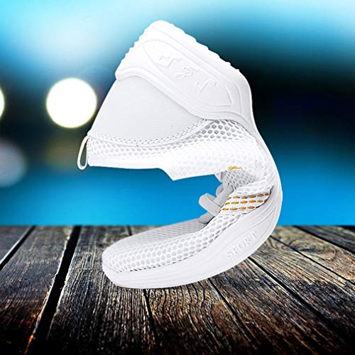 712 Dance Soft Fitness Trainers Shoes Bottom Sneakers Single Breathable Net Slip Children's Lightweight Dance Resistant Juleya White Women's Wear Mesh Shoes Non wI6EaxqnU8