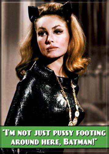 Batman 1966 - Pussyfooting Catwoman - Refrigerator Magnet