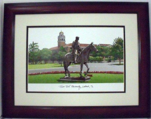 Texas Tech University Collegiate Framed Print