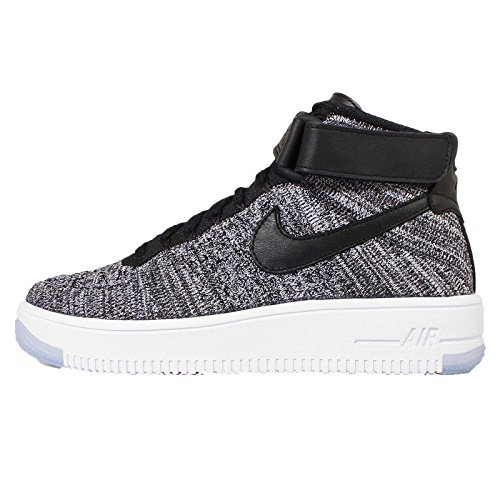 edddaeedba742 Nike Womens AF1 Air Force 1 Flyknit Hi Top Trainers 818018 Sneakers Shoes   Amazon.in  Shoes   Handbags