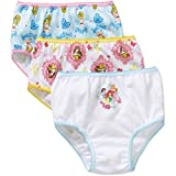 Disney Girls' Princess Underwear 3 Pack - Toddler 5T