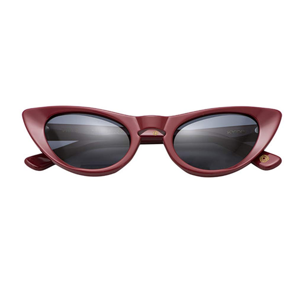 Sunglasses Kyme VIOLA C.03 Red Solid Grey 56 15 145 NEW
