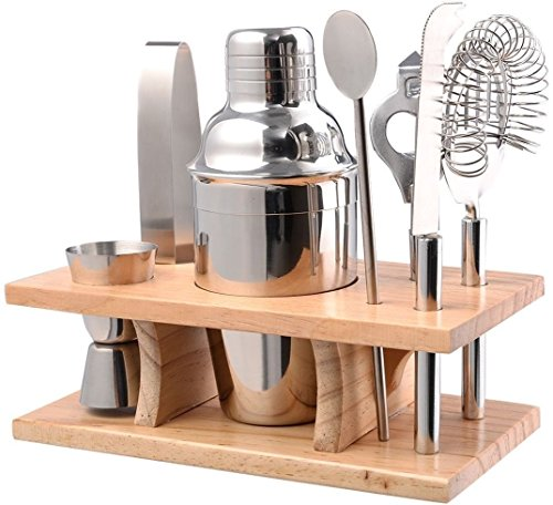 Bar Tools & Accessories Cocktail Shaker Mixer Stainless Steel Drink Bartender Martini Tools Bar Set (Electric Martini Mixer)