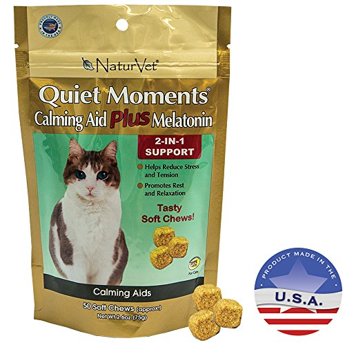 naturvet-50-count-quiet-moments-calming-cat-plus-melatonin-soft-chew