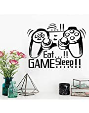 Console Handle Game Wall Paste Removable Waterproof Wall Sticker Bedroom Living Room Sitting Room Bathroom Office