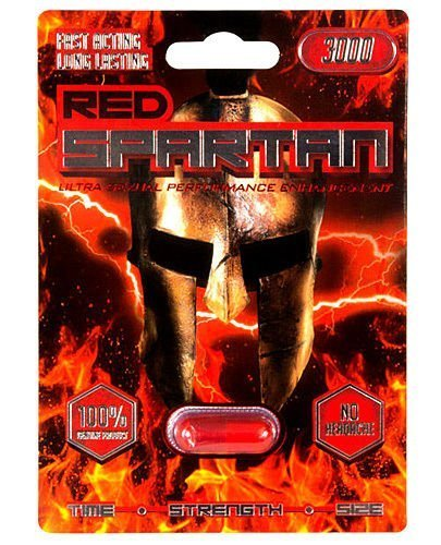 Red Spartan 3000 - 6 pill Male Enhancement Sex Pill - All Natural Performance