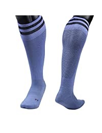 Lian LifeStyle Boy's 1 Pair Knee Length Sports Socks Striped Size XS/S/M