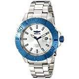 Invicta Men's INVICTA-14051 Pro Diver Analog Display Japanese Quartz Silver Watch