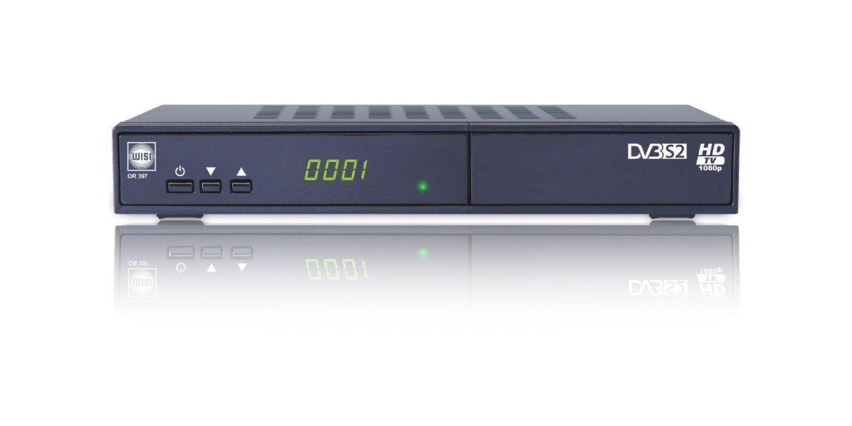 Wisi OR 397Irdeto SATRECEIVER Adecuado para HD Austria HDTV y ORF HD con HDMI y SCART hembra