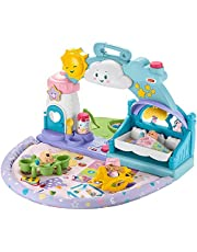 Fisher-Price Little People 123 Babies Playdate, Musical take-Along playset with Smart Stages for Toddlers and Preschool Kids – English Edition