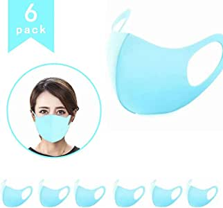 Wearable Indoors and Outdoors(6pcs Blue)
