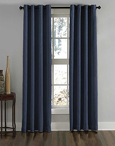 Curtainworks Lenox Grommet Curtain Panel, 50 by 95