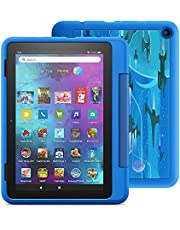 """Introducing Fire HD 8 Kids Pro tablet, 8"""" HD, ages 6–12, 32 GB, Intergalactic"""