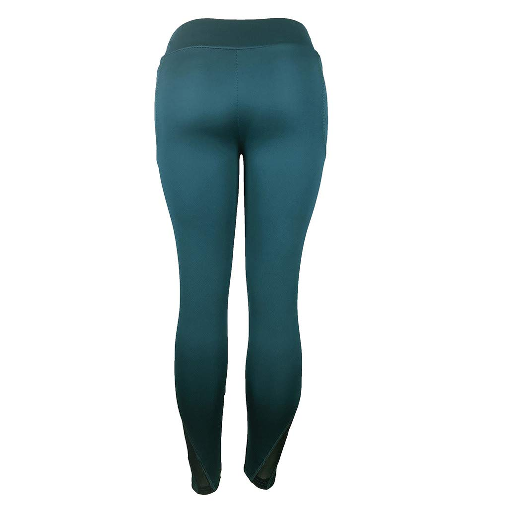 Womens Fashion Workout Leggings Fitness Casual Gym Running Yoga Athletic Pants kaifongfu Sports Pants