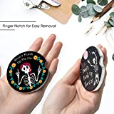 2 Pack Ceramic Cup Coasters for Car, 2.56inch