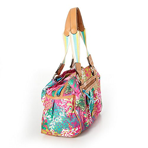 Buy lily bloom women's triple-section handbag floral