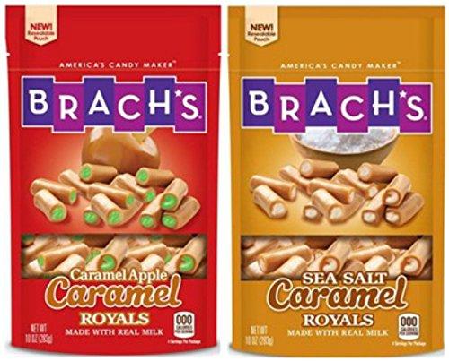 Brach's Caramel Royals 2 Pack Caramel Apple&Sea Salt Caramel