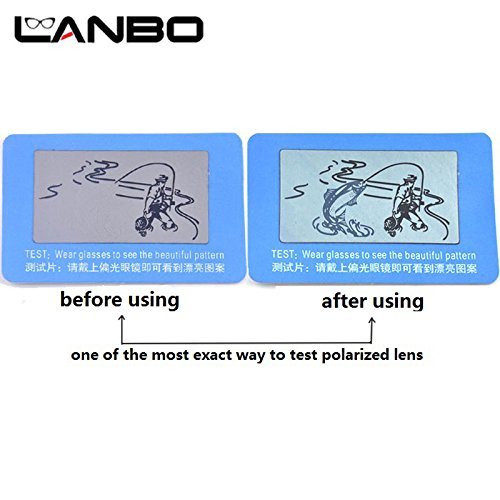 21e87c08ef Generic LANBO 100pcs TAC Polarized Lens Test Card for Testing Polarizing  sunglasses Polaroid Test Card Eyewear Sun Glasses Accessories  Amazon.in   Home   ...
