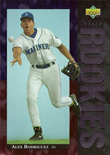 1994 Upper Deck Baseball #24 Alex Rodriguez Rookie Card -