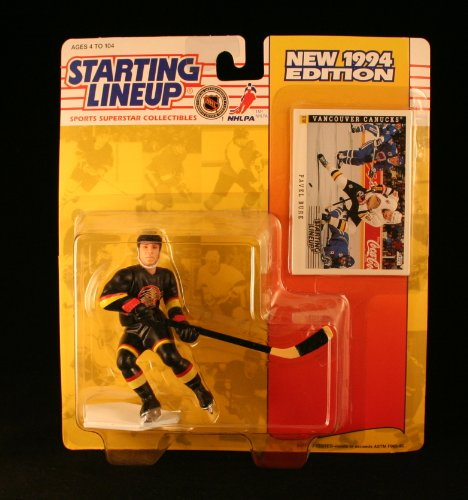 fan products of PAVEL BURE / VANCOUVER CANUCKS 1994 NHL Starting Lineup Action Figure & Exclusive SCORE Collector Trading Card
