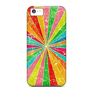 Durable Case For The Iphone 5c- Eco-friendly Retail Packaging(rainbow)