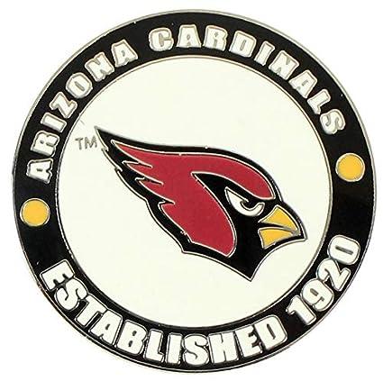 Amazon.com: Arizona Cardinals círculo Pin – est. 1920 ...