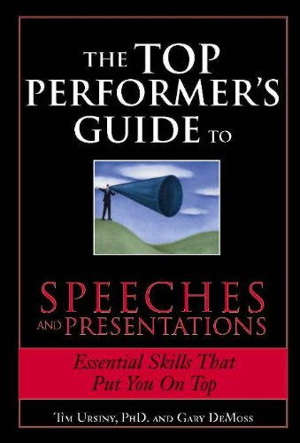 Pdfdownload The Top Performer S Guide To Speeches And