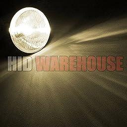HID-Warehouse HID Xenon Replacement Bulbs - Bi-Xenon H4 / 9003 4300K - Bright Daylight (1 Pair) - 2 Year Warranty