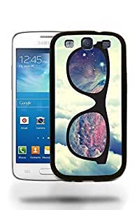 Hipster Infinity of Love Colorful Glasses Phone Case Cover Designs for Samsung Galaxy S3 Kimberly Kurzendoerfer