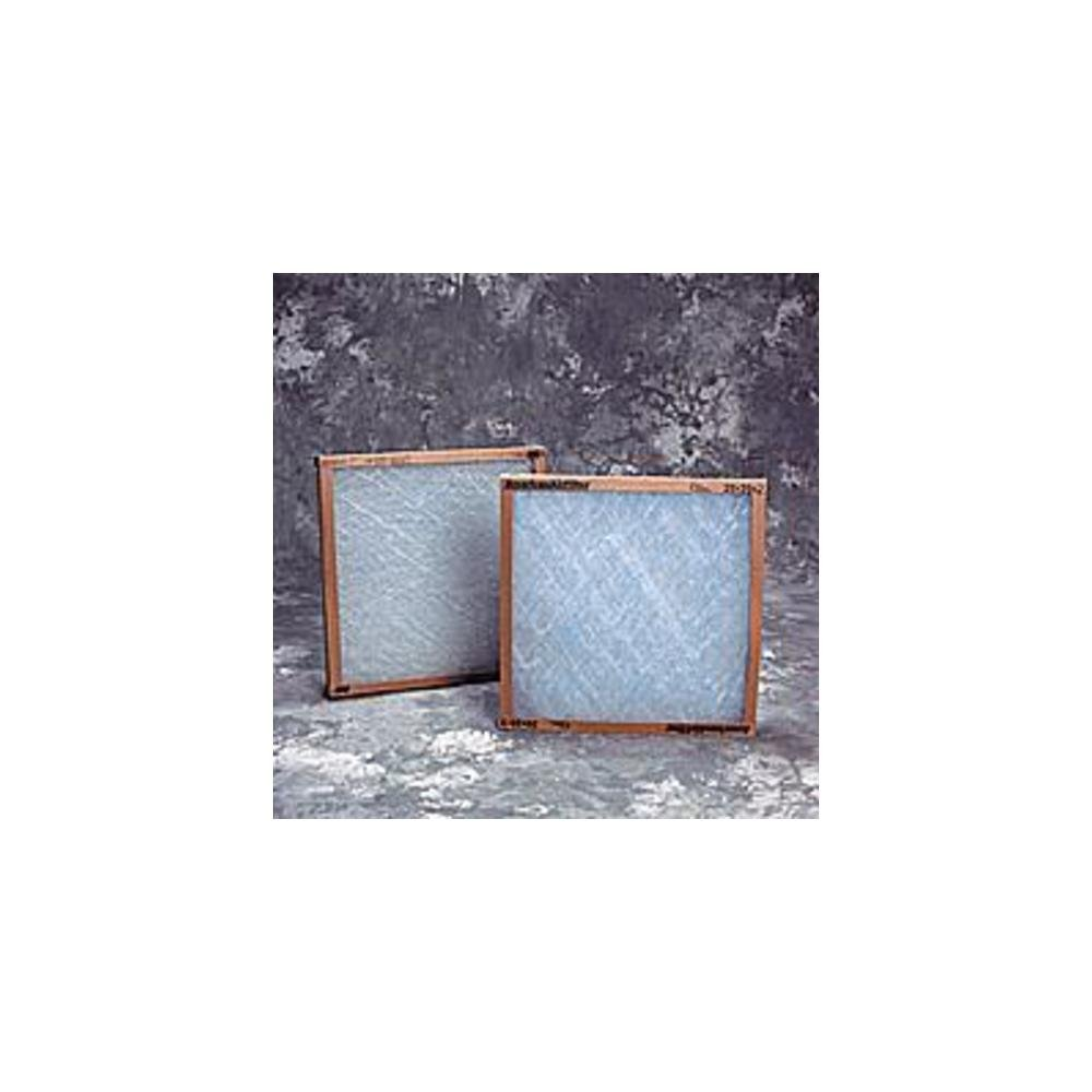 AIR FILTRATION CO INC - 20X25X2 FRAME GLASS DISP BOX OF12 - AFEA2