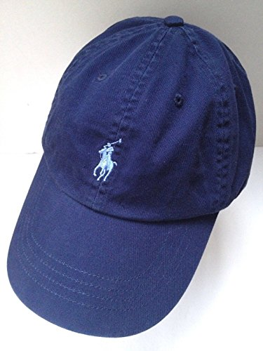 Ralph Lauren Polo Women s Navy Blue Cap Hat with Light Blue Pony  Logo Adjustable  Amazon.co.uk  Sports   Outdoors bd1aadc9bb3