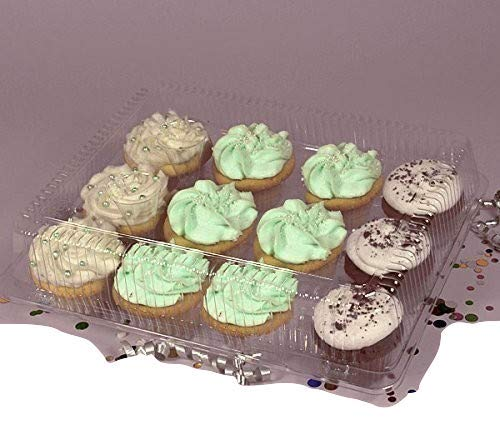The Bakers Pantry Cupcake Boxes- Cupcake Containers 24 Pack Cupcake, Cupcake Box Container Holds 12 Cupcakes (24, 12-Compartment) by The Bakers Pantry (Image #7)