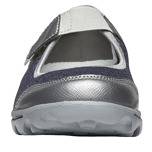 Onalee Blue Jane Propét Silver Flat Women's Mary 8x5nqp4RS