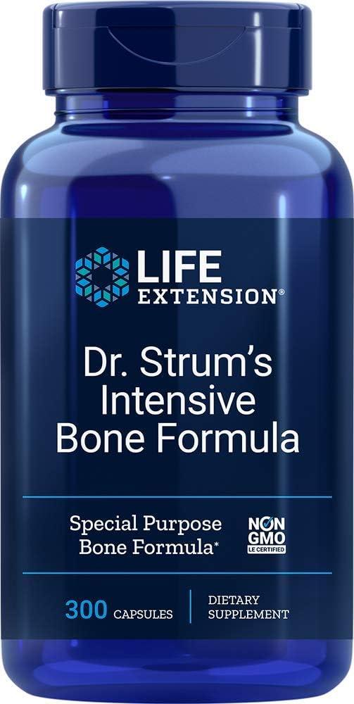 Life Extension Dr. Strum's Intensive Bone Formula, 300 Capsules