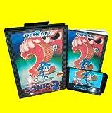 Taka Co 16 Bit Sega MD Game Sonic the hedgehog 2 With Box And Manual 16bit MD Game Card For Sega Mega Drive For Genesis