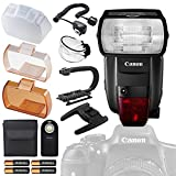 Photo : Canon Speedlite 600EX II-RT with Deluxe Accessory Bundle and Starter Kit